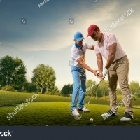 stock-photo-male-golf-players-on-professional-golf-course-golfer-teaches-to-play-golf-1278190207